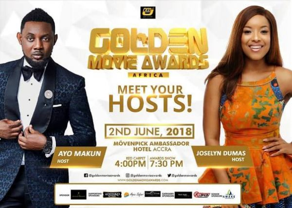 Golden Movie Awards Africa 2018: John Dumelo and Others Pick Awards