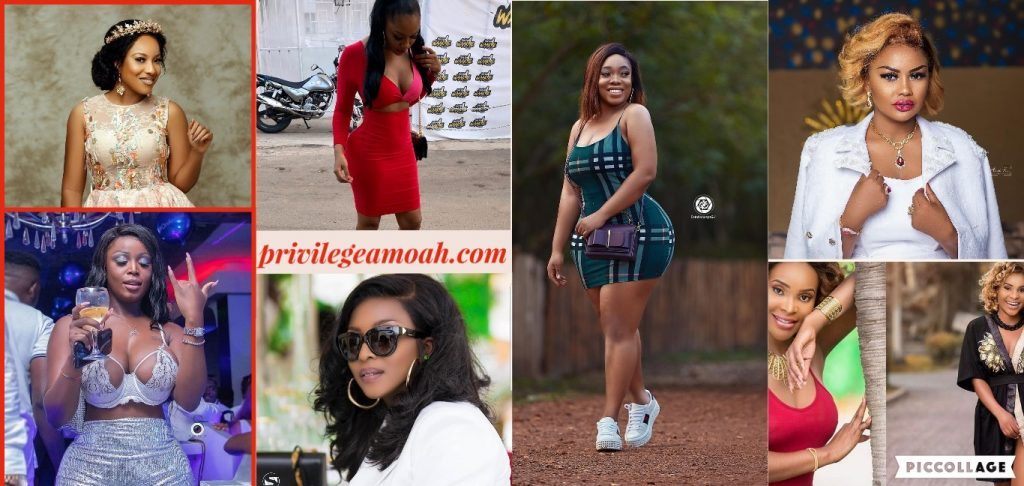 Photos: 8 most hottest female celebrities in Ghana of all time.