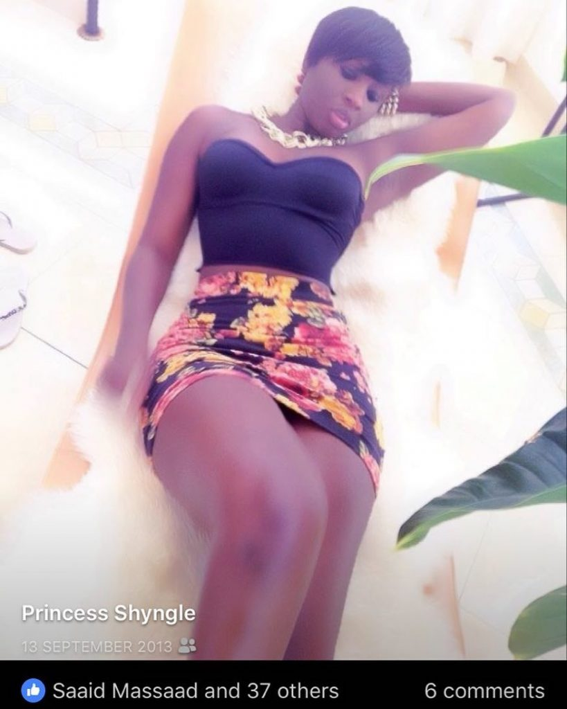 Princess Shyngle shares a 2013 throwback charming photo of her self