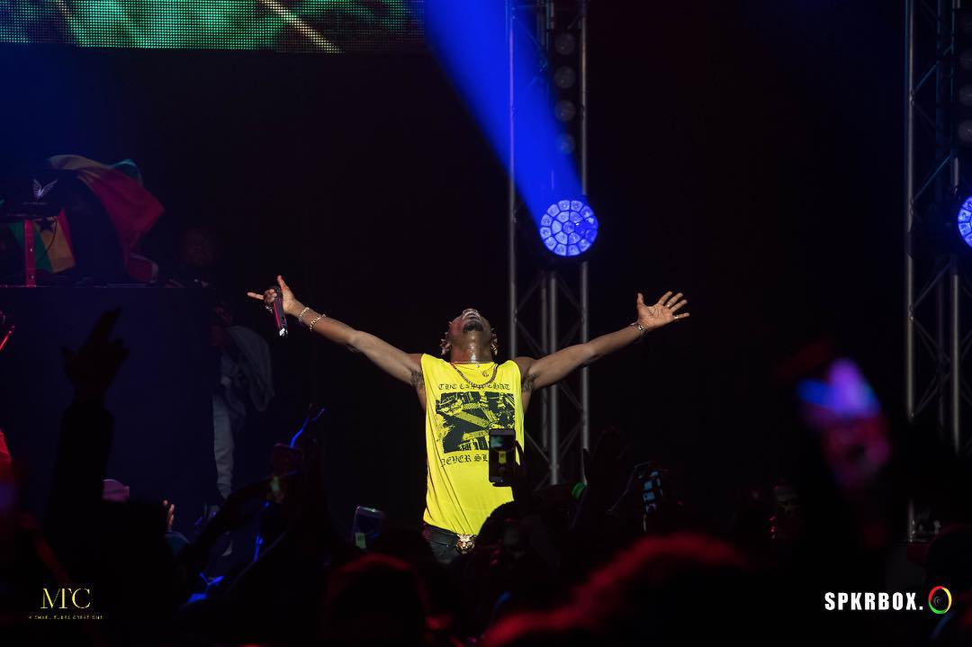 Sold Out! Shatta Wale Shuts down Amsterdam with crazy performance.