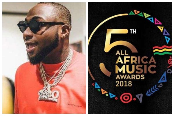 AFRIMA 2018: Davido win big, Stonebwoy, Shatta Wale, Sarkodie and others. See full list