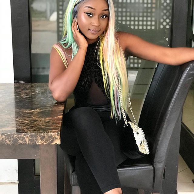Efia Odo fell from a Table whiles dancing to Sister Derby' 'Kakalika love'