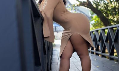 Video: Moesha Buduong excites fans with her 'huge backside' in a transparent dress.