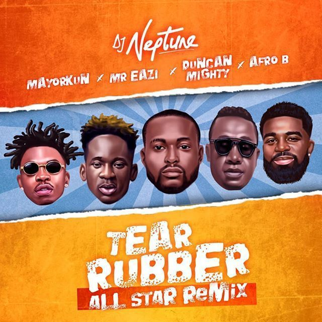 DJ Neptune – Tear Rubber Ft. Mayorkun