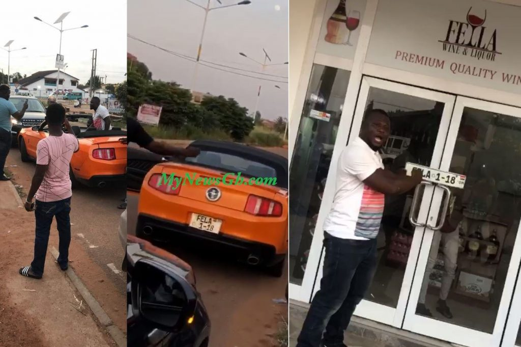Fella Makafui's angry ex-boyfriend takes away the car he bought for her