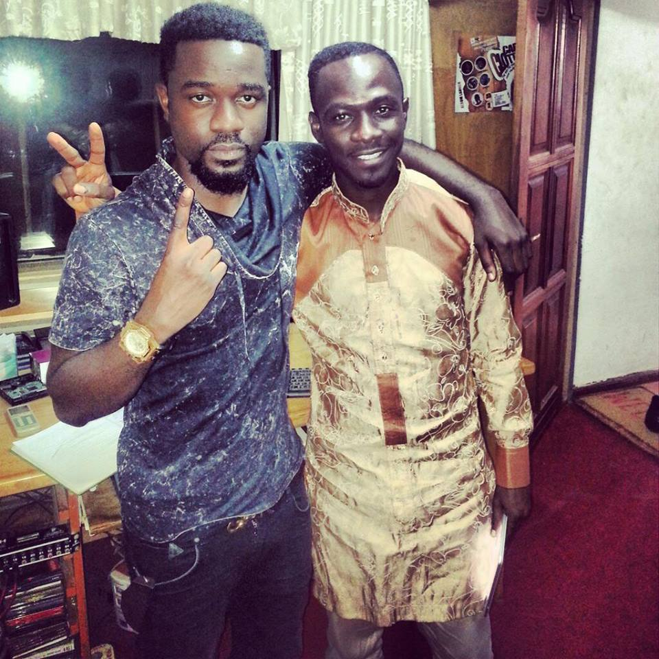 You are an Inspiration, We are proud of You - Sarkodie Hails Okyeame Kwame