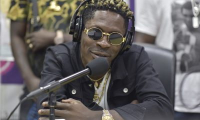 Video: Shatta wale's Original freestyle section on BBC's channel O pops up.