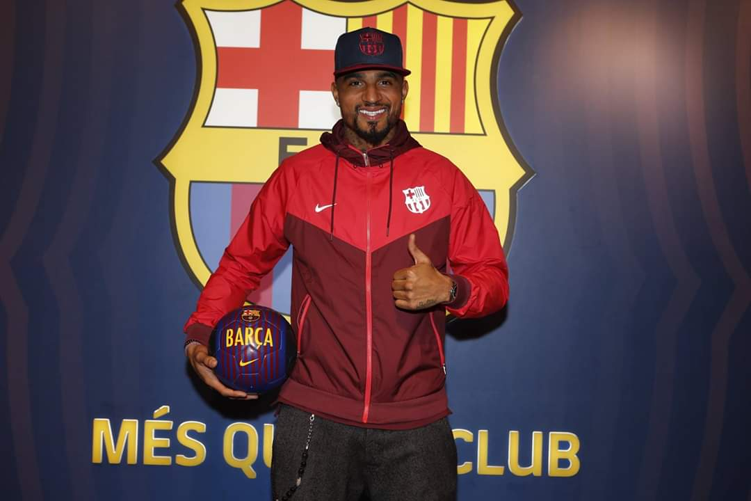 Kelvin Prince Boateng,Lionel Messi,barcelona,real madrid