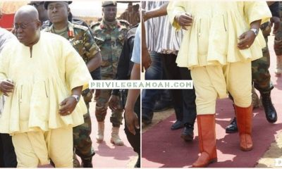 Akufo-Addo's 'Batakari and Ntwontwo' to Yaa Naa's Enthronement stirs social media