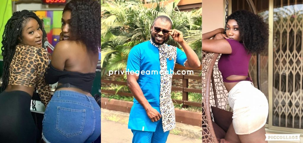 Abeiku santana, wendy shay, bum, video, celebrities, ghana celebrities, ghana showbiz