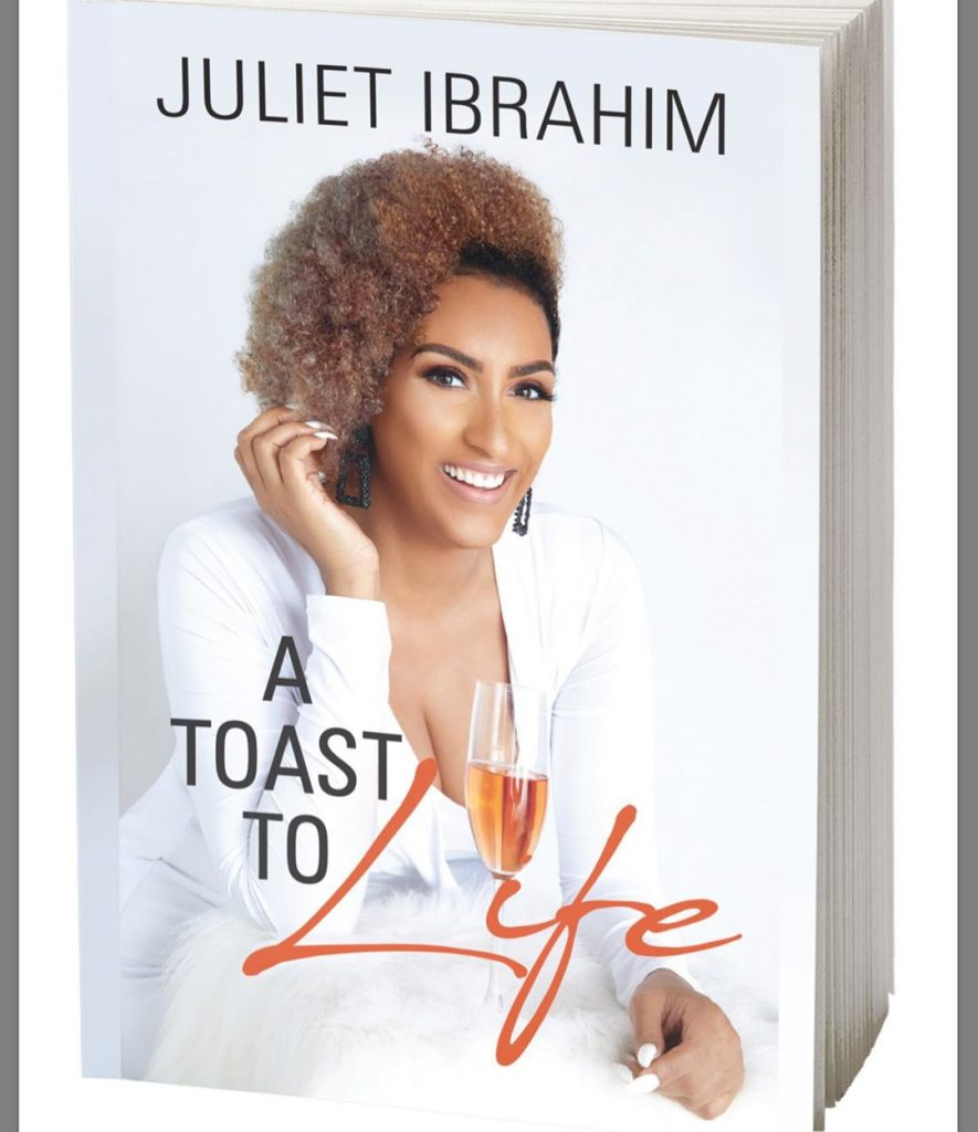 Ghanaian screen goddess, Juliet Ibrahim has debuted her much-teased book titled 'A Toast To Life' in Nigeria. 'A toast to life', a book she wrote detailing and telling her ups and downs as a stunning actress, how her career begun and how far she has come.