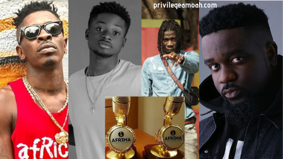 AFRIMA 2019: Shatta wale, Sarkodie, Stonebwoy, Kuami Eugene and others earn a spot on the nomination list