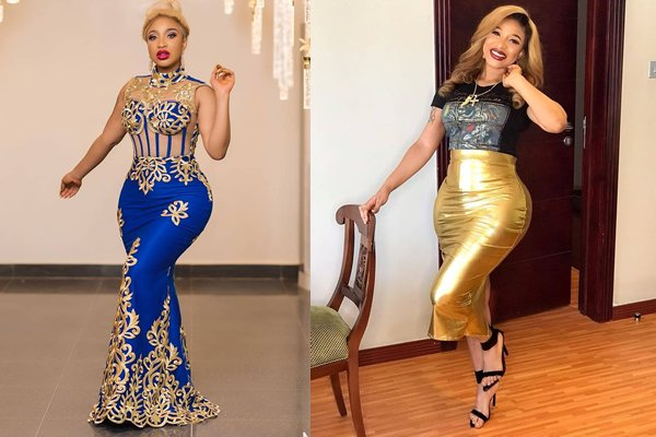 Nollywood actress, Tonto Dikeh who is never afraid to air her opinion whenever the need arises has revealed that undergoing butt surgery boos