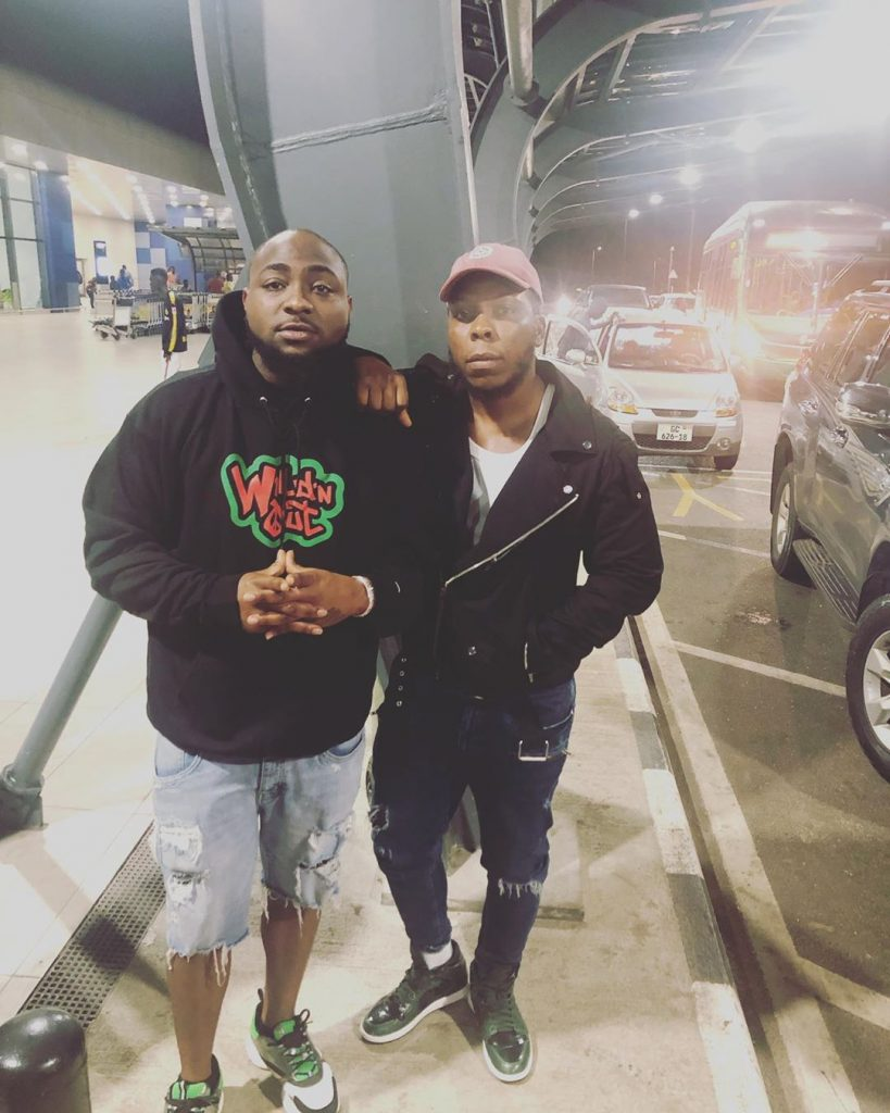 EDEM FT. DAVIDO: Edem features Davido on his new song.