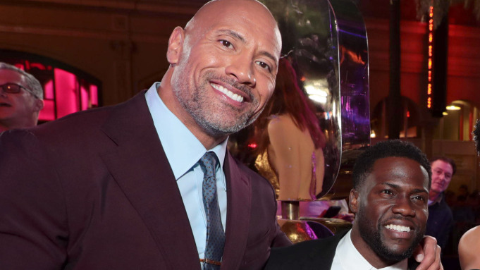 Kevin Hart is 'doing very well' after car crash - Dwayne Johnson reveals