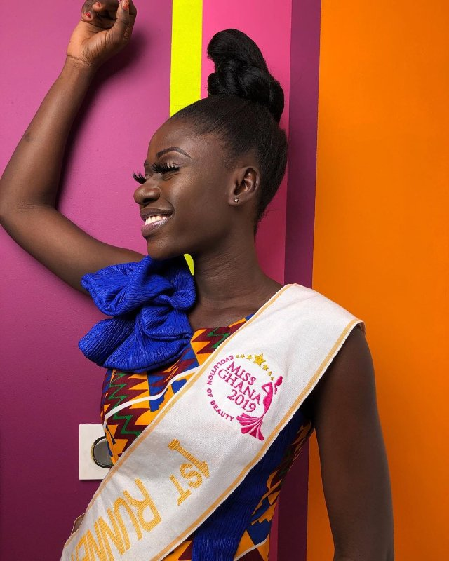 Shocking! Miss Ghana 2019 1st runner-up, Sarah Odei Amoani resigns