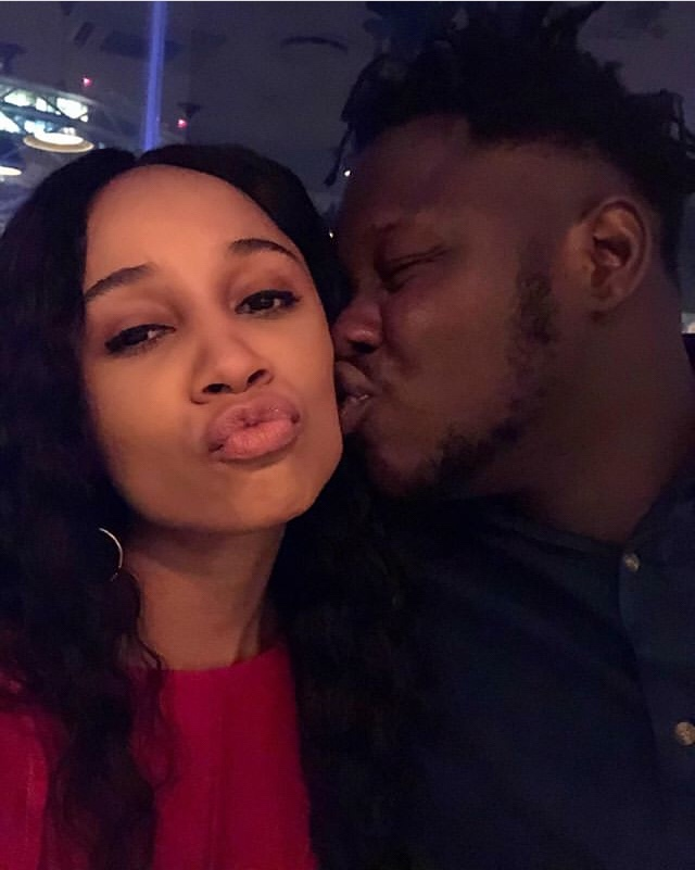 """Happy birthday my sweet Ex"" Sister Derby to Medikal"