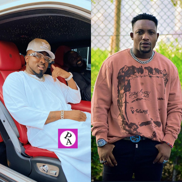 Jah Phinga hangs out with Ice Prince at his residence in Accra