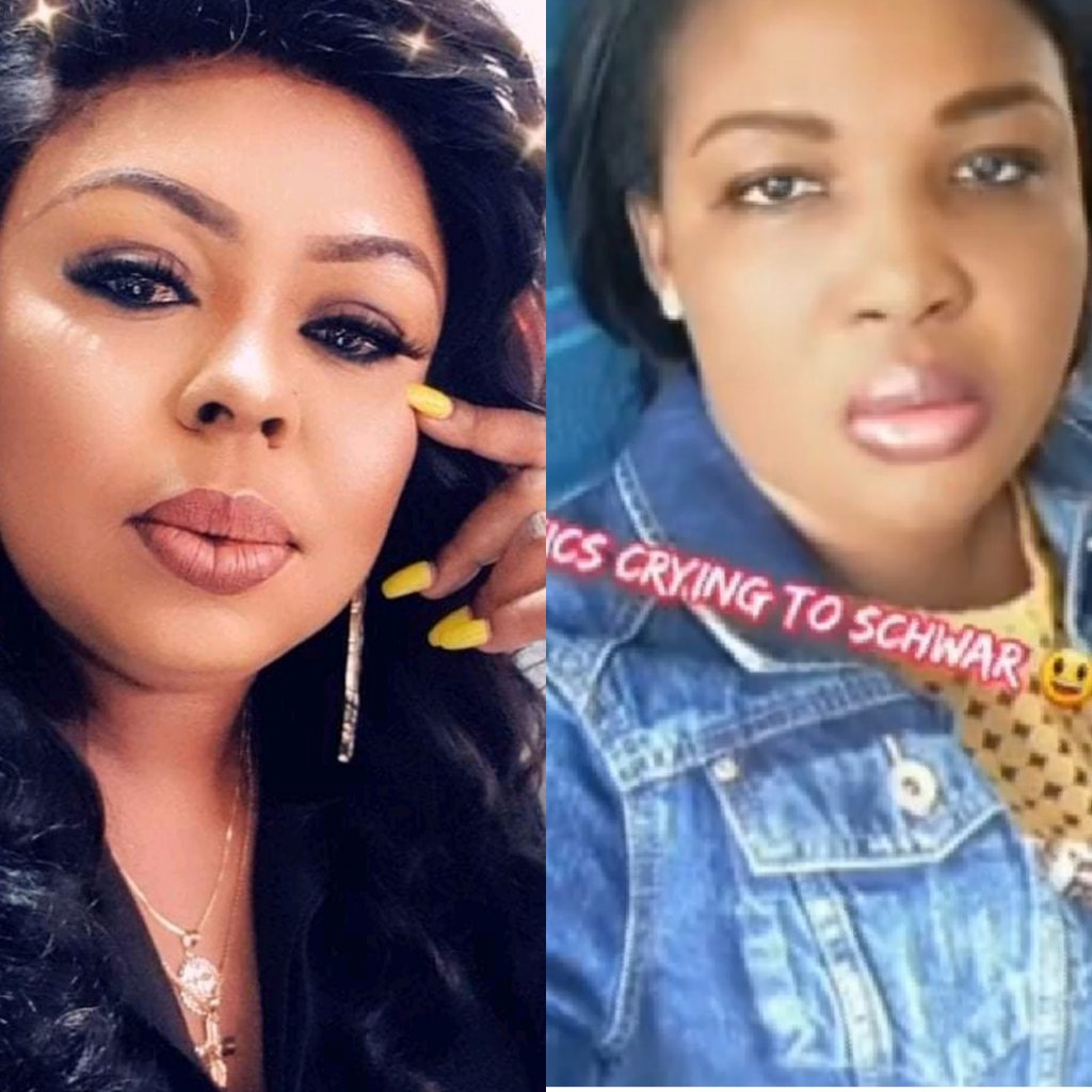 You didn't tell the world what your fake product did to my Skin - Afia Schwarzenegger threatens to expose Pinamang Cosmetics