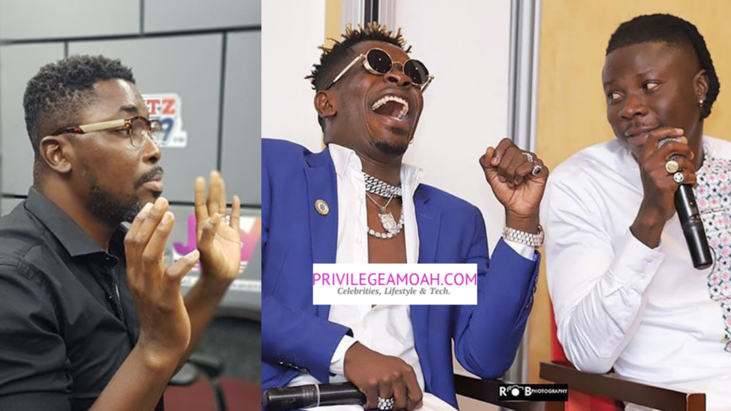Shatta wale and Stonebwoy are bigger than VGMA - Kwame A-Plus backfires