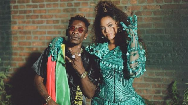 Shatta Wale features Beyonce on his new album ?