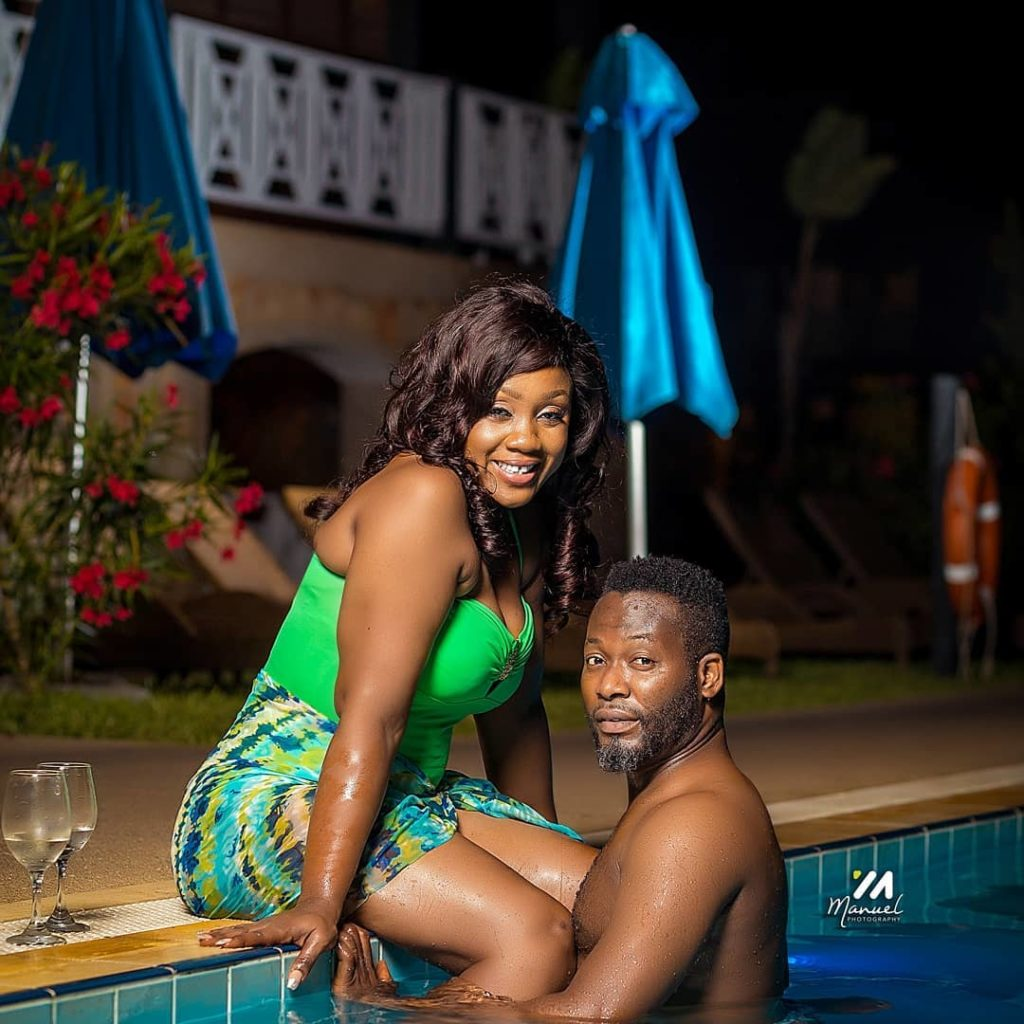 Adjetey Anang and wife celebrate 14th Marriage Anniversary (Photos)