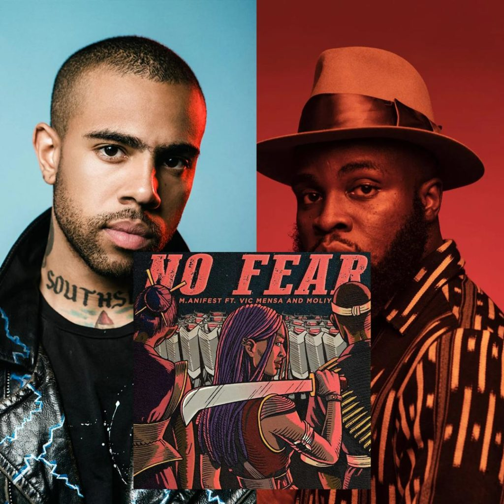 Listen! 'No Fear' by M.anifest ft. Vic Mensa and Moliy is a vibe