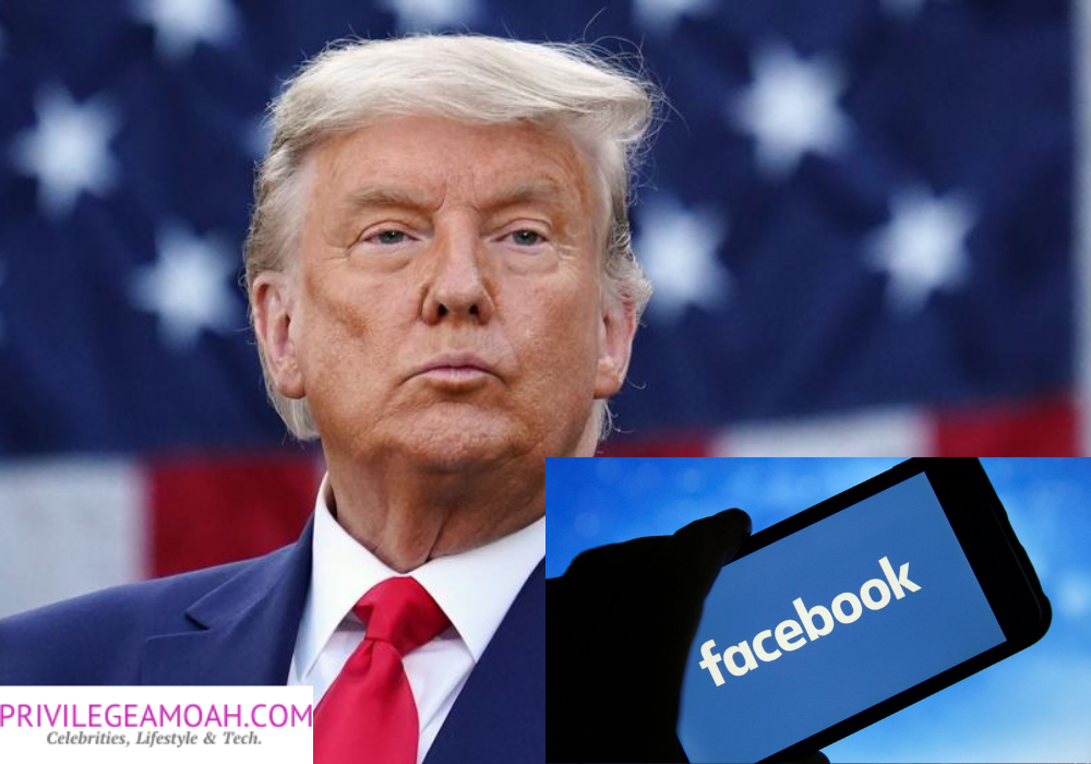 Breaking Facebook Suspends Trump for Two Years