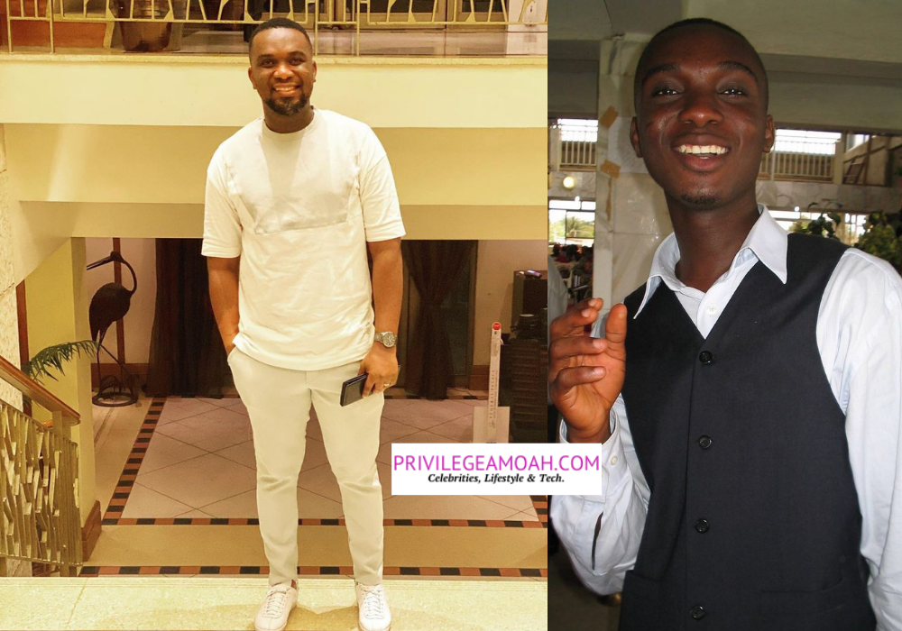 Interesting Reactions As Joe Mettle Stunned Fans With A Funny 'Youthful' Throwback Photo
