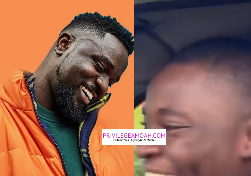 Video: Trotro Driver Overly Excited Seeing Sarkodie For The First Time